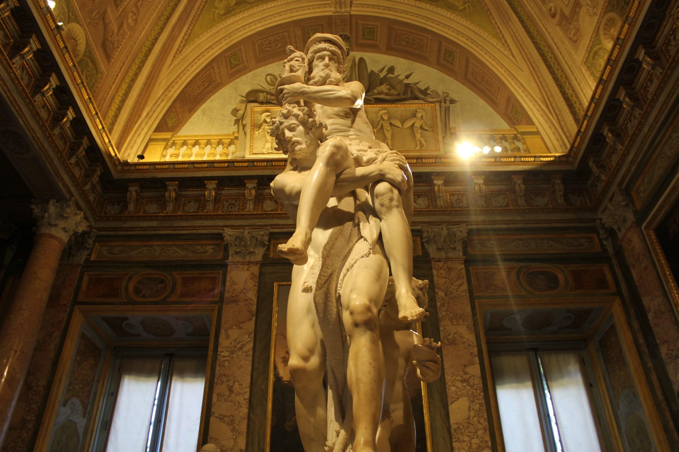 top attraction in rome Bernini's Sculpture