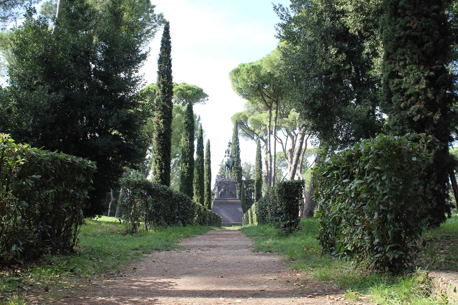 top attraction in rome Villa Borghese Garden