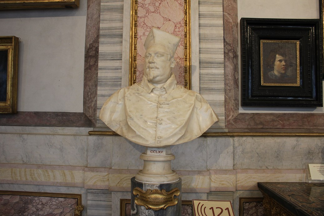 history of the borghese gallery Bust of Scipione