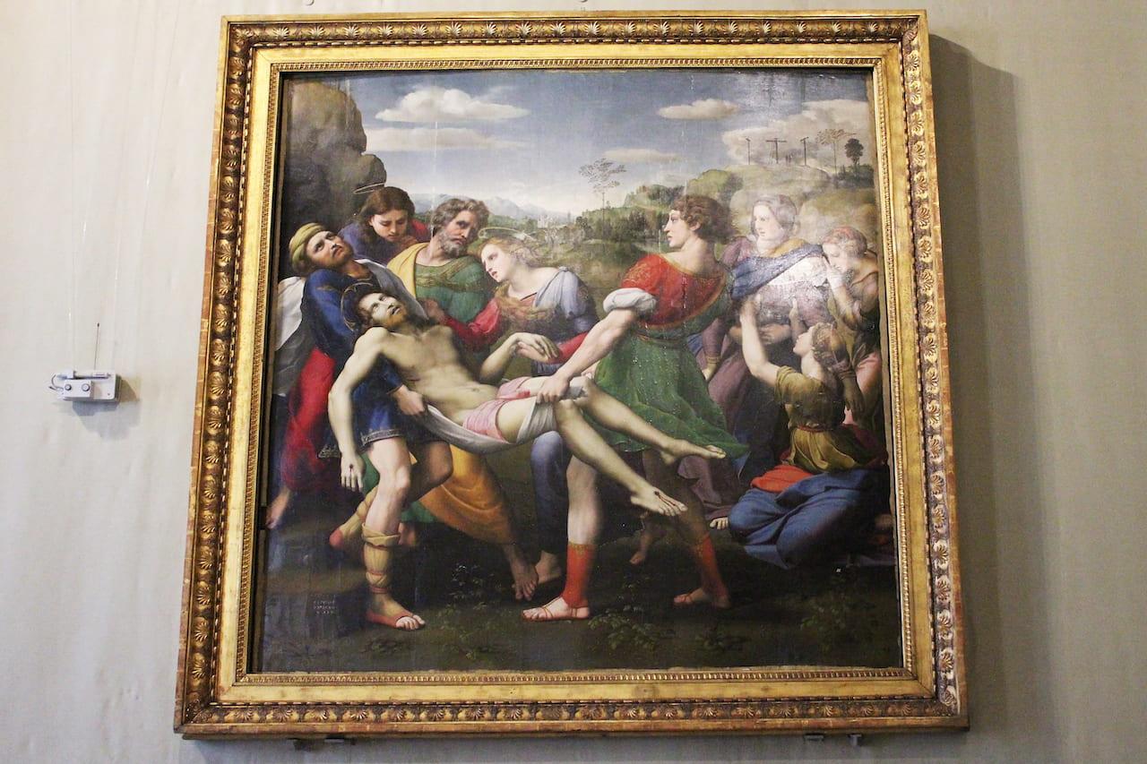 borghese masterpieces raffaello
