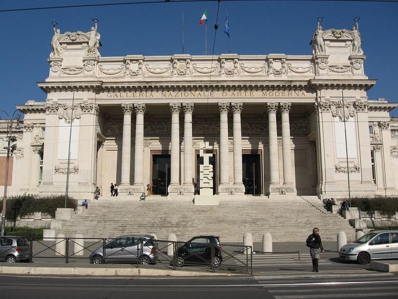 villa borghese tips National Gallery of Modern Art