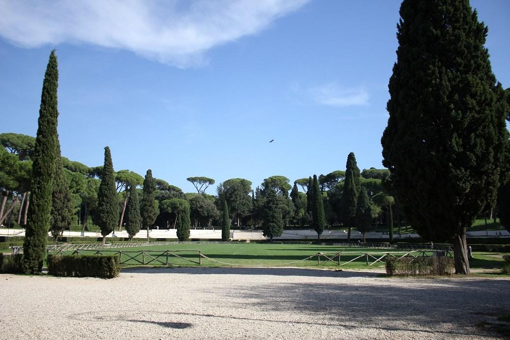 villa borghese tips Piazza di Siena