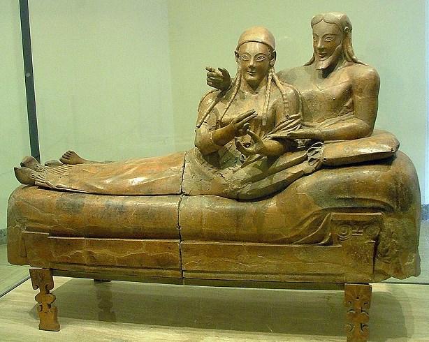 villa borghese tips Sarcophagus Of The Spouses