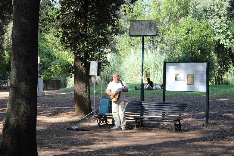 essential guide to villa borghese Musican