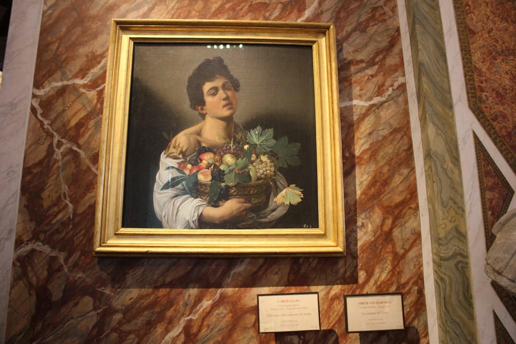 borghese gallery audio tour Caravaggio