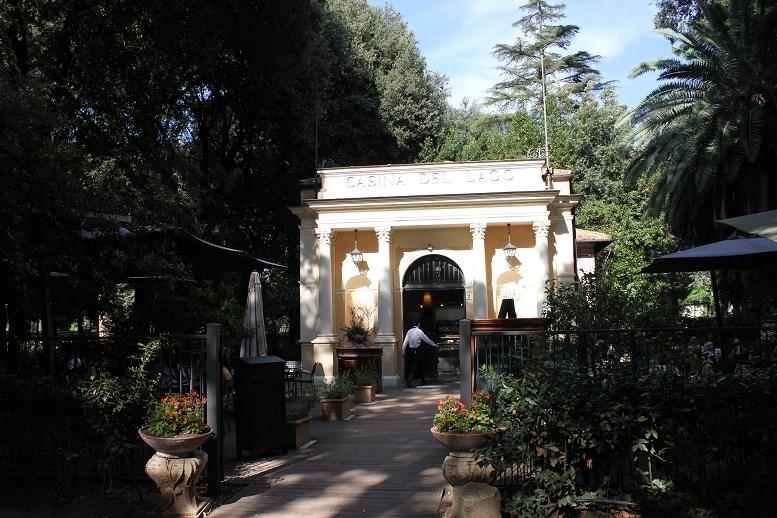 borghese gardens restaurant Caisna Del Lago