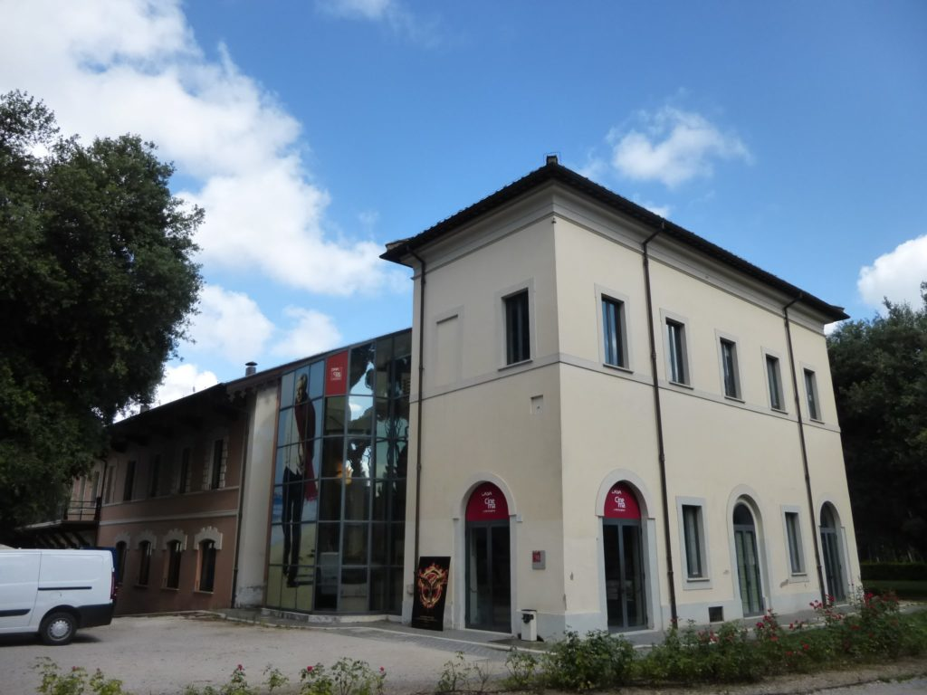 villa borghese park Casa del Cinema