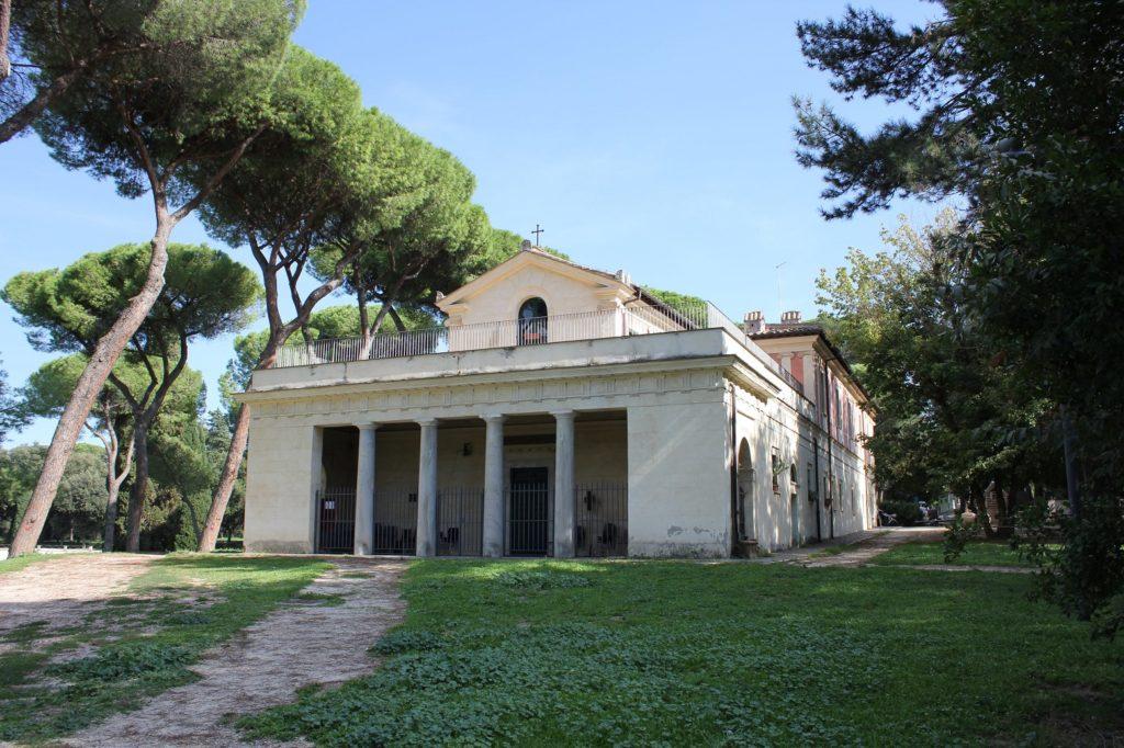 villa borghese park Casina di Raffaello