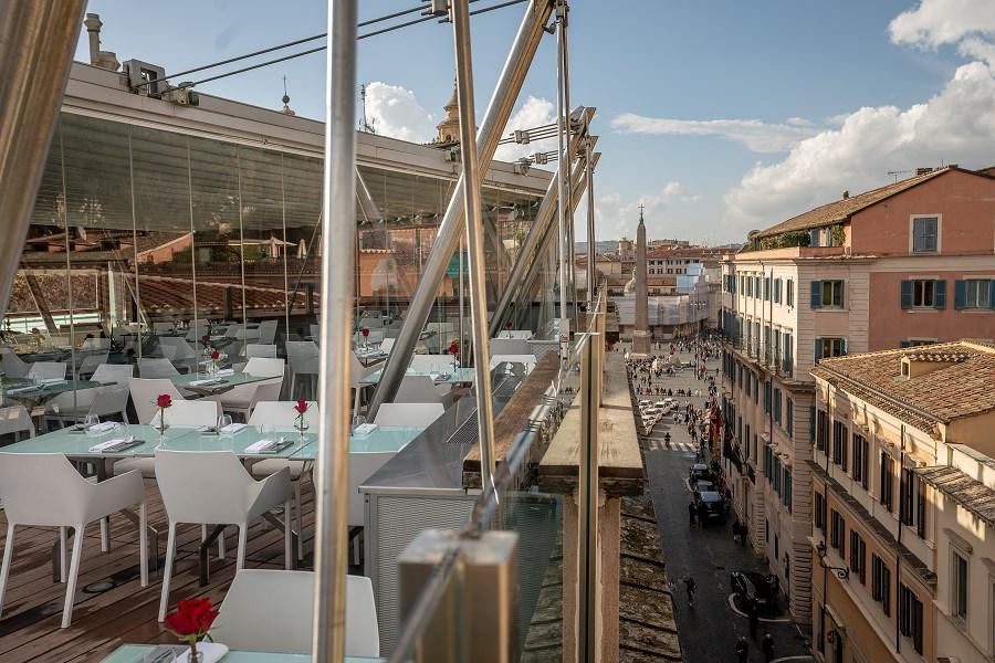 best bars near villa borghese Hi Res Rome