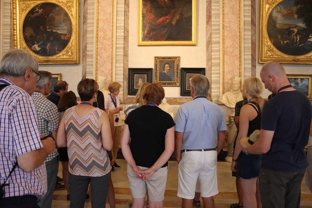 borghese gallery audio tour small group
