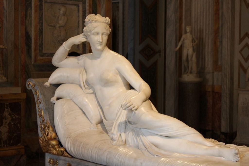 borghese gallery guide Paulina Bonaparte