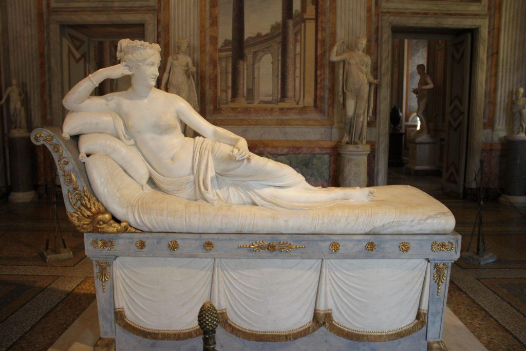borghese gallery private tour Paulina Bonaparte