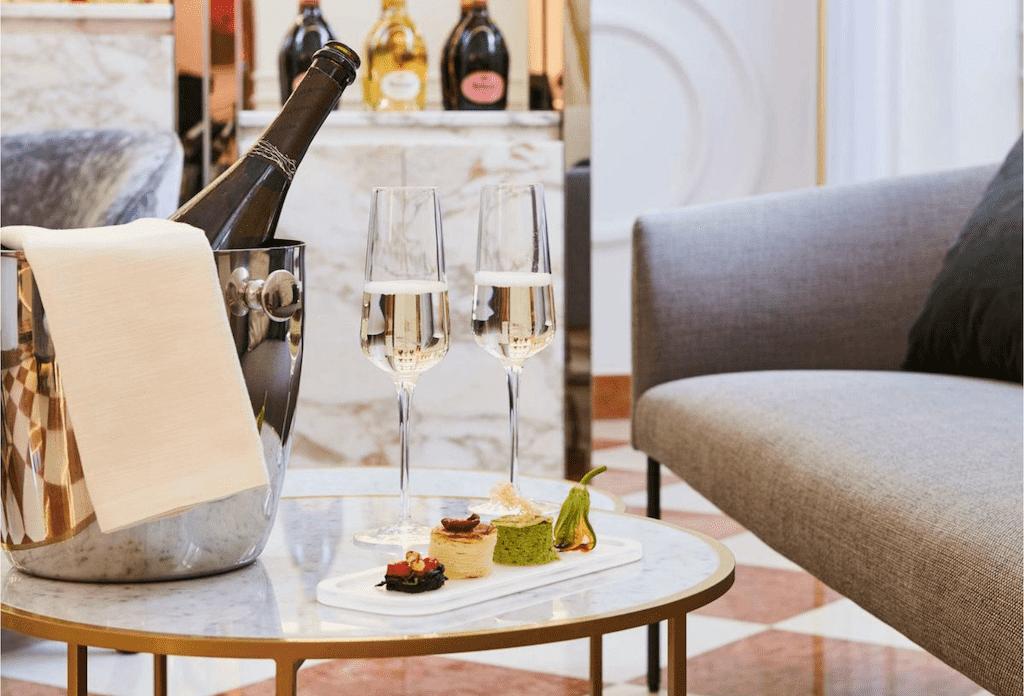 sofitel restaurants near Villa Borghese
