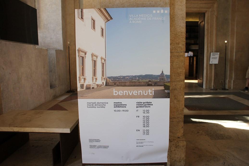 villa medici roma tickets
