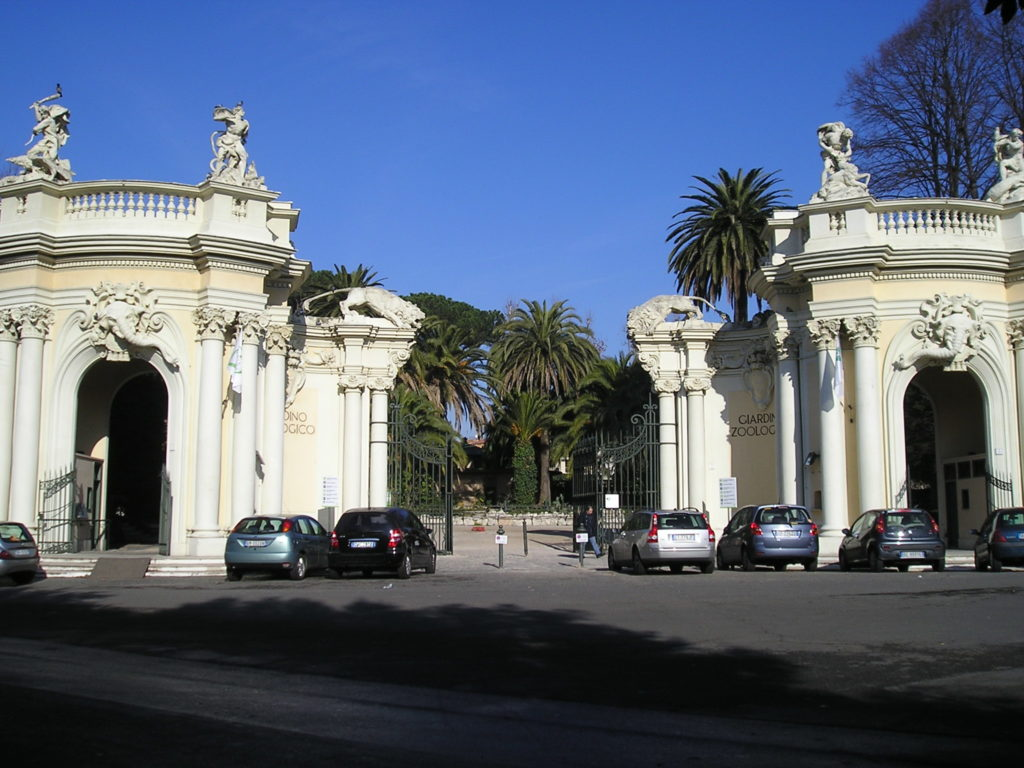 how to visit the villa borghese gardens Zoo Bioparco