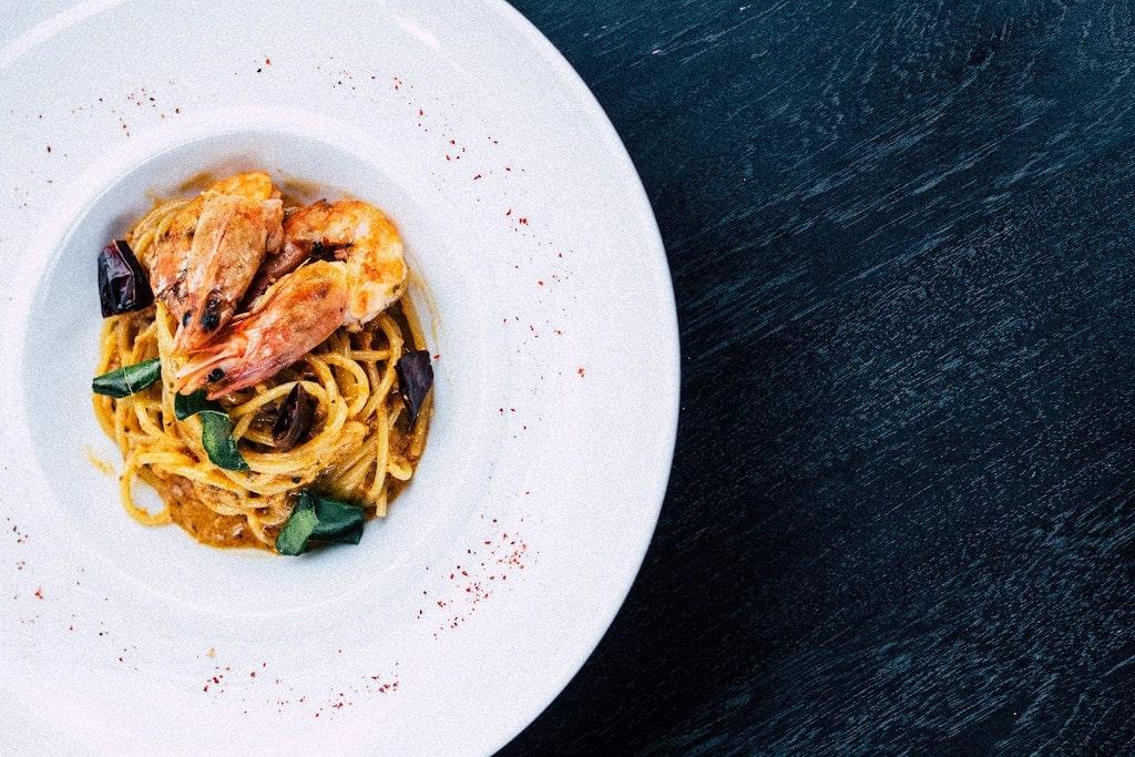 seafood pasta restaurants near Villa Borghese