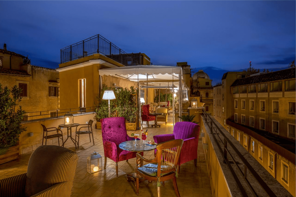 hotels near the borghese gallery