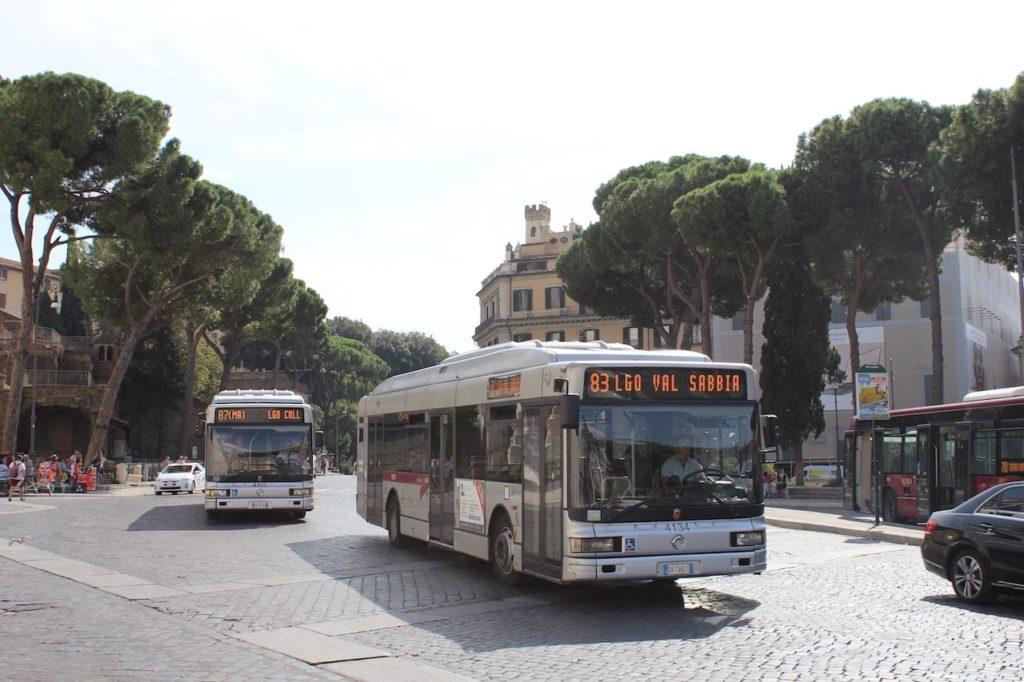 villa borghese zoo rome buses Bioparco