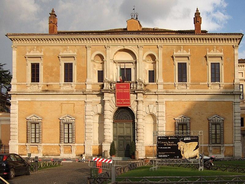 borghese museum National Etruscan Museum of Villa Giulia