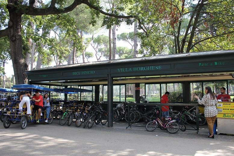 borghese gardens segway tour bike
