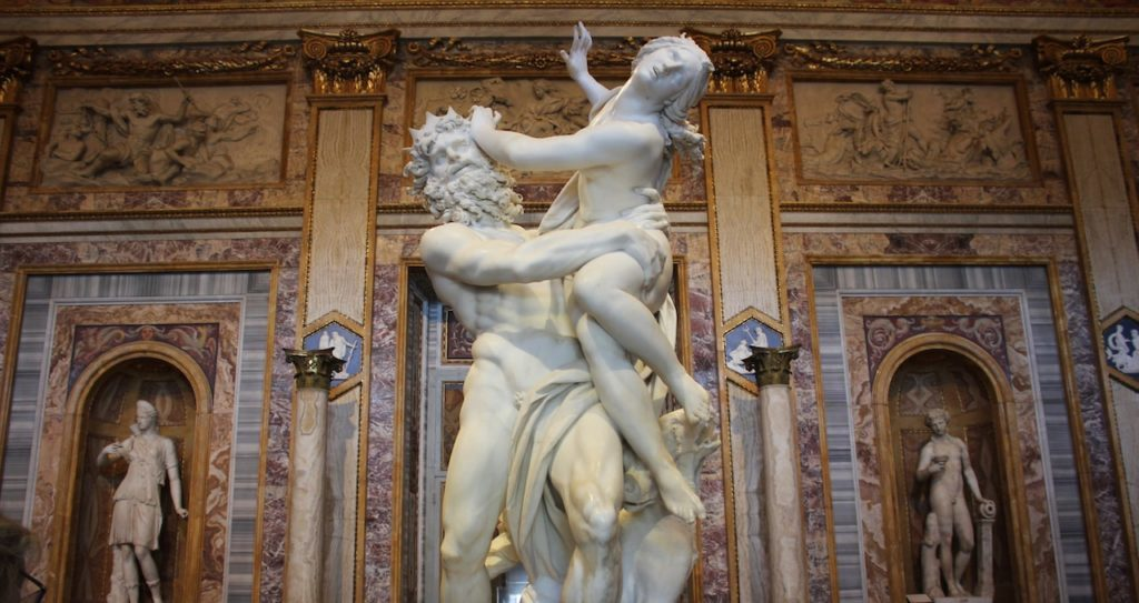 rome tourist card Borghese gallery Gallery Sculptures