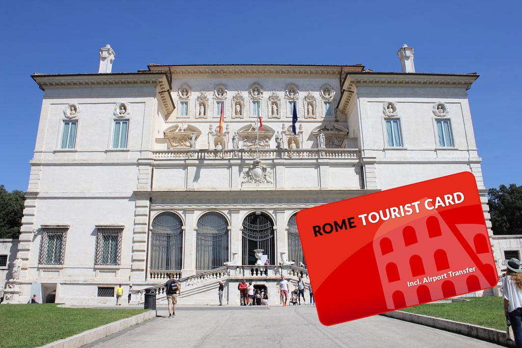 rome tourist card borghese gallery