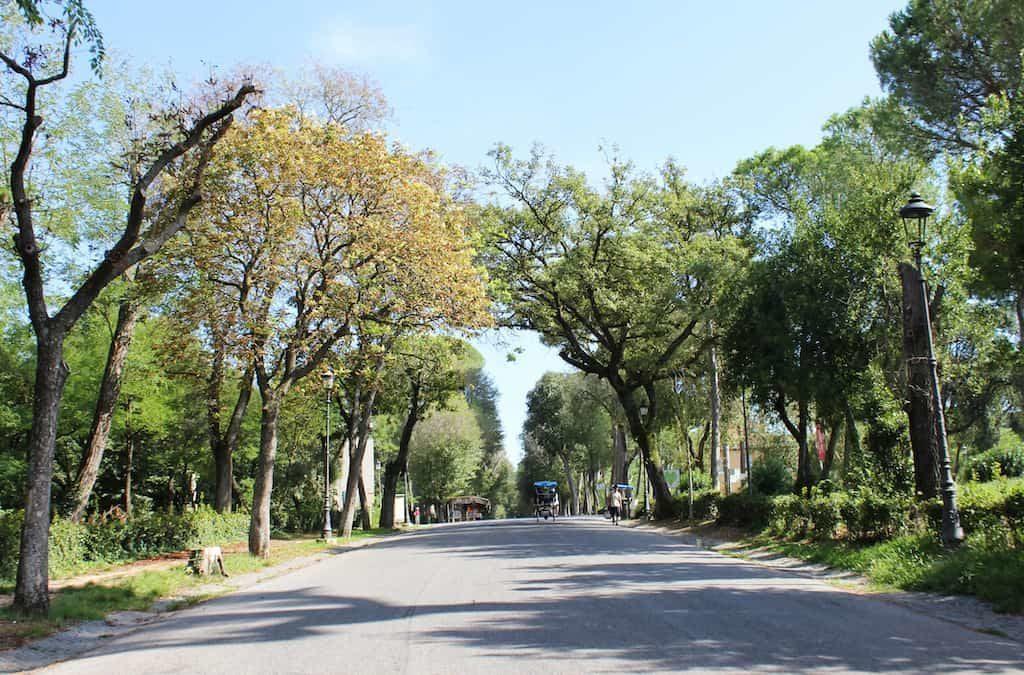 visit borghese gardens