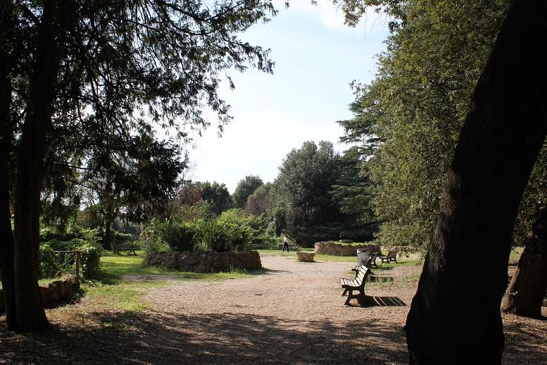 rome tourist card Villa Borghese Garden