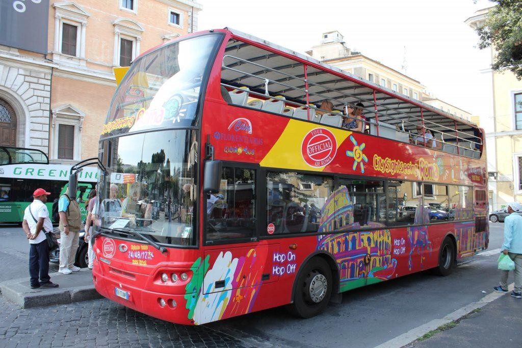 rome tourist card Hop On Hop Off Bus