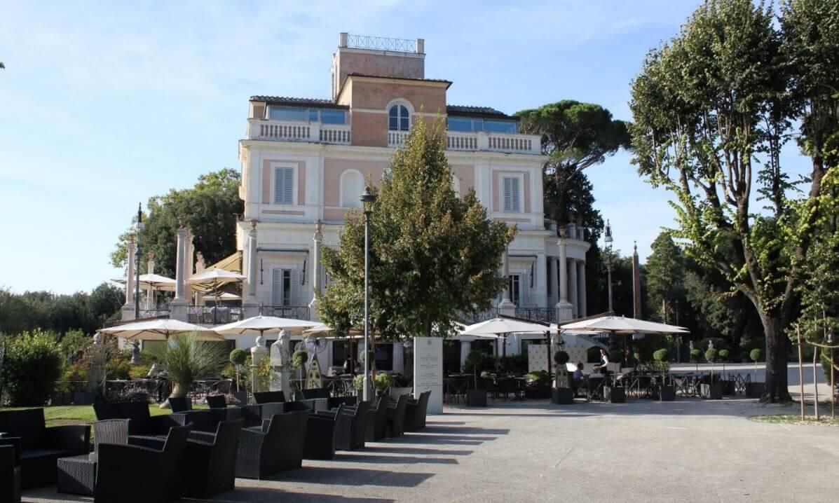 Casina Valadier in Rome