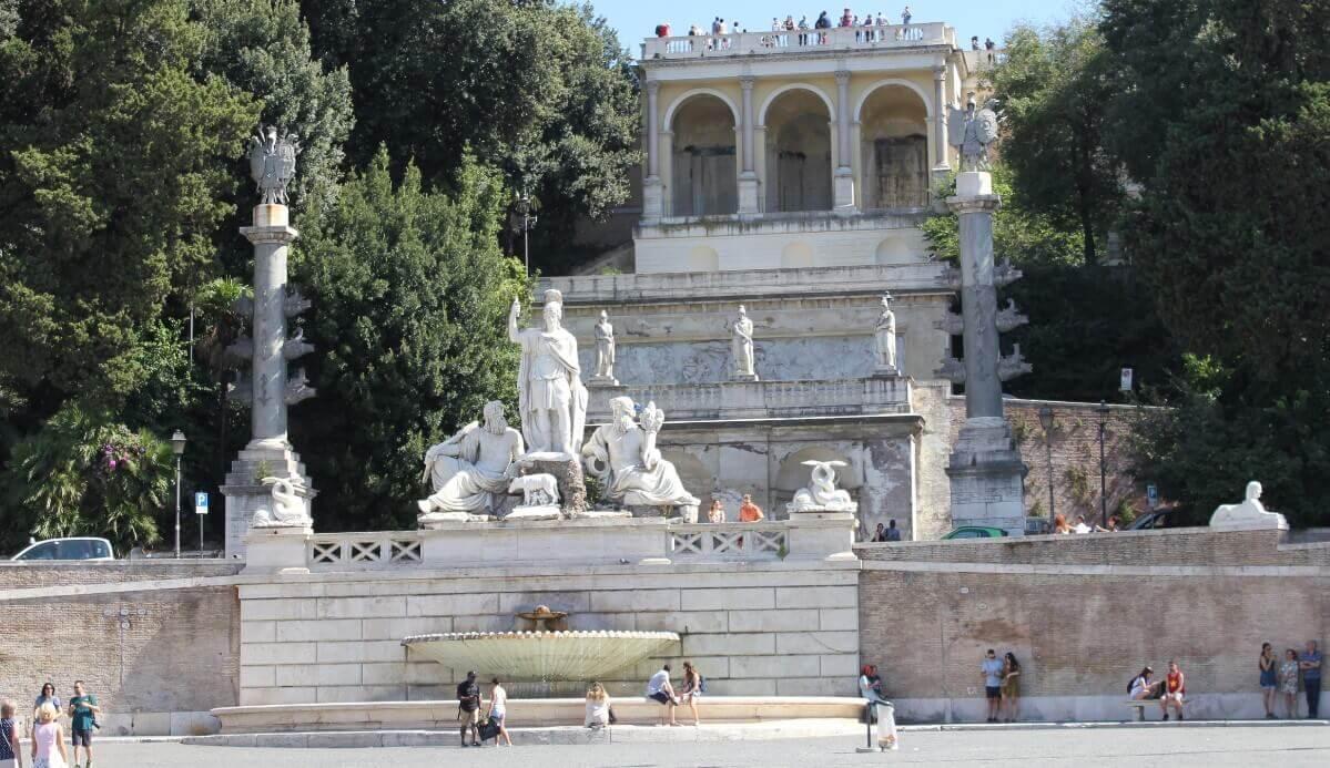 Piazza del Popolo - Square in ROme