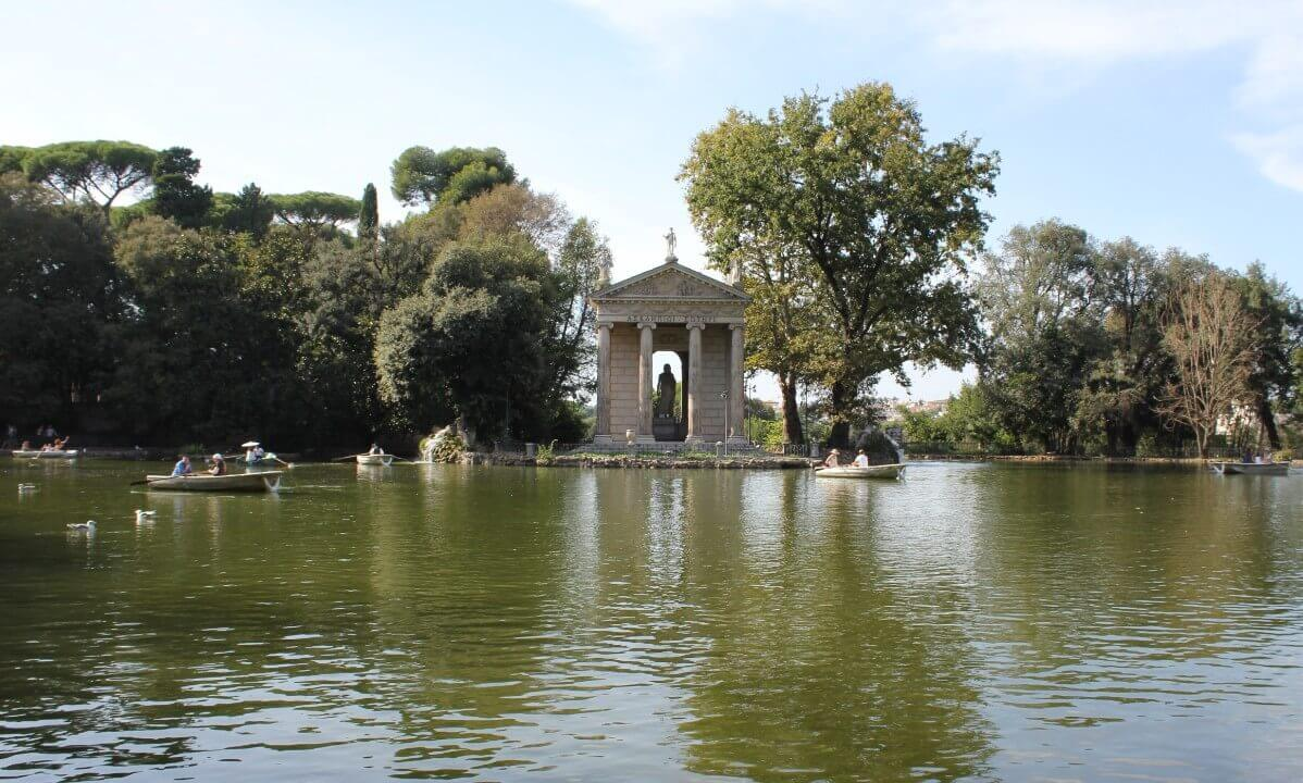 Villa Borghese garden