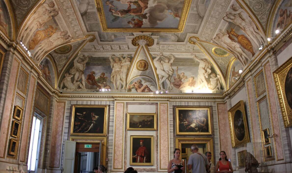 Villa Borghese Gallery paintings