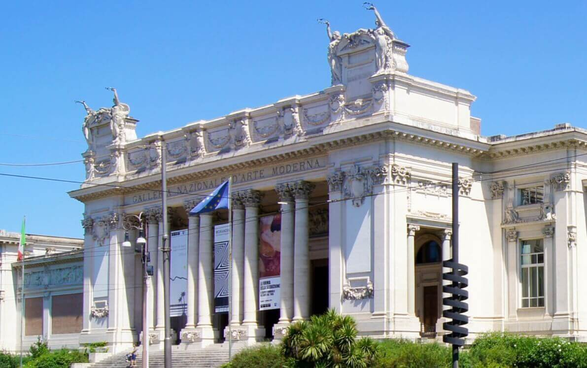 Modern Art Museum in Rome