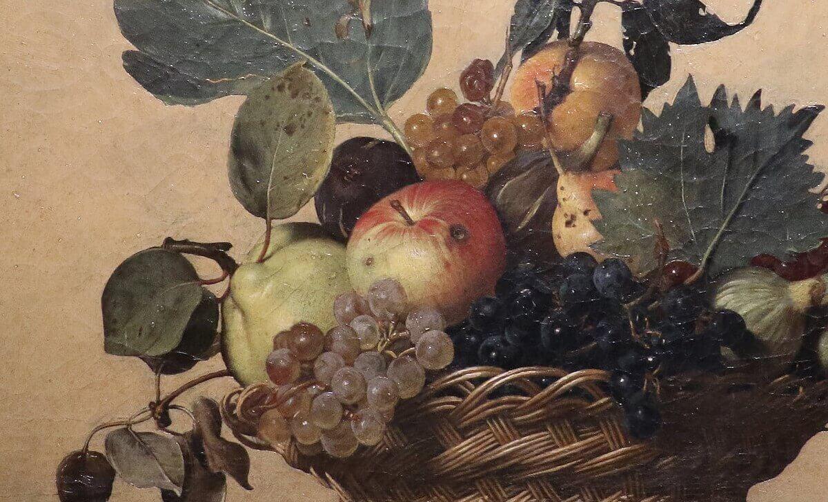 Basket Caravaggio painting
