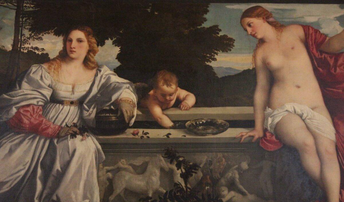 Painter Titian Sacred and Profane Love