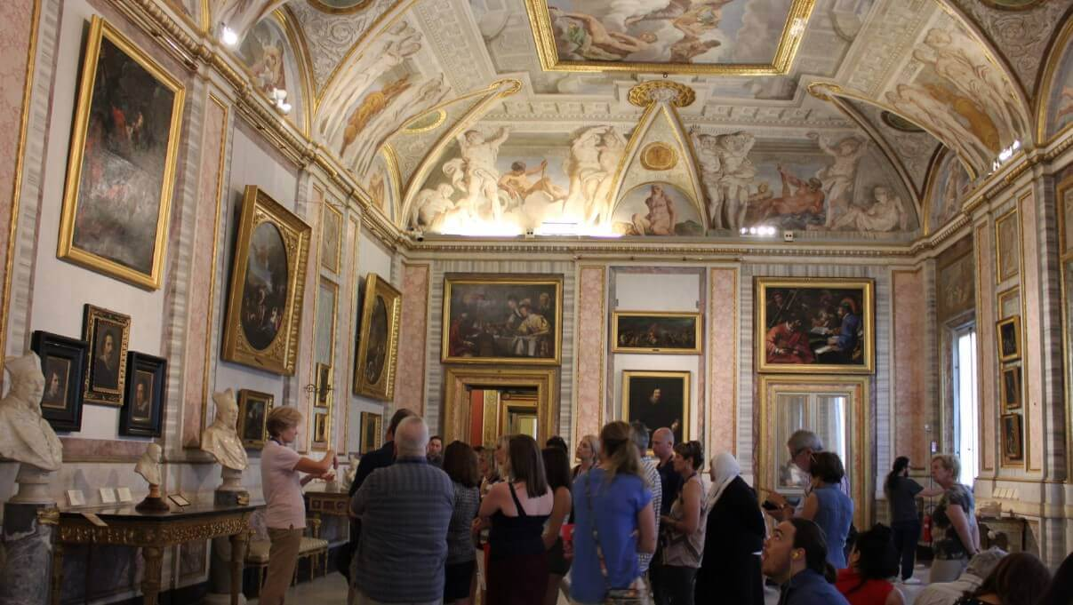 Borghese Gallery paintings