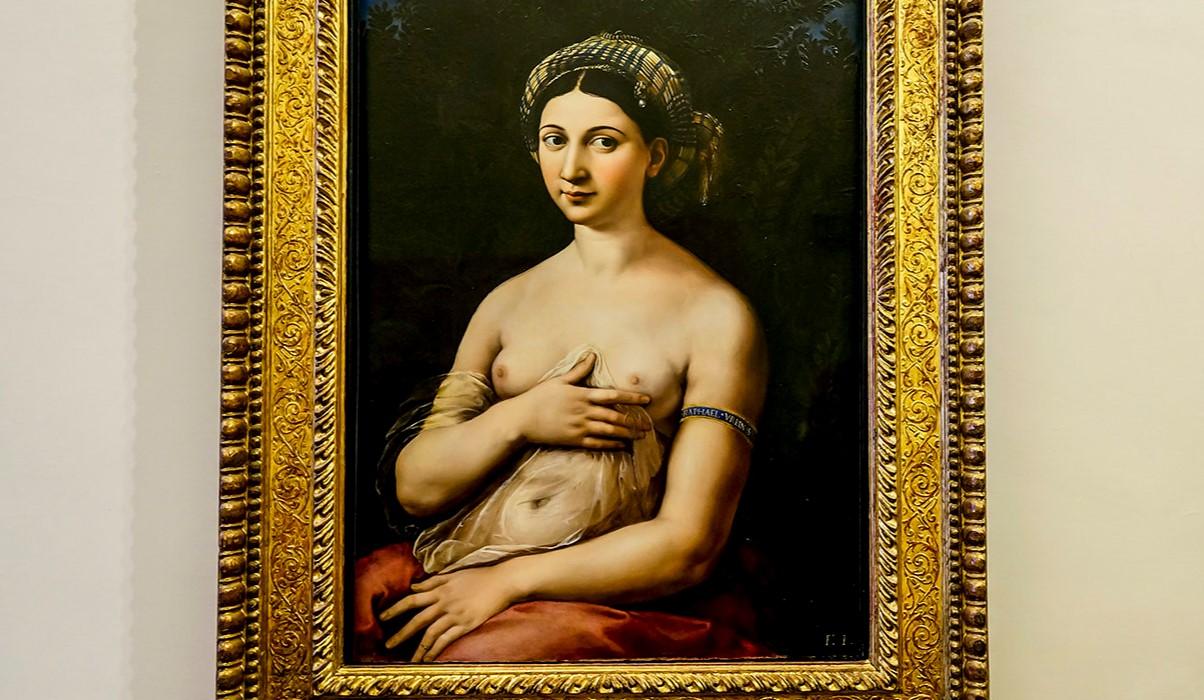 La Fornarina Raphael painting